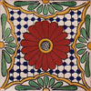 Fliese 10x10 - Flor de Pascua