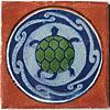 Fliese 10x10 - Tortuga / Schildkröte