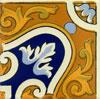 Eckfliese 10x10 - Azquina Flamenco