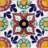 Fliese 10x10 - Flores