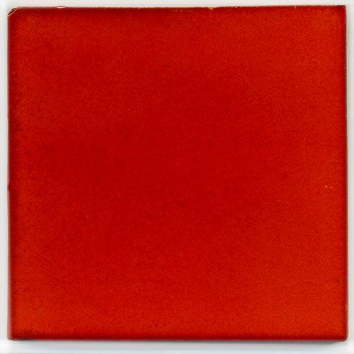 handbemalte fliese 10x10 rot kaufen im bunte fliesen shop. Black Bedroom Furniture Sets. Home Design Ideas