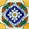 Handbemalte Fliese 10x10 - Guadalajara M