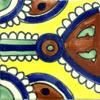Handbemalte Fliese 10x10 - Indian