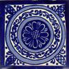 Fliese 10x10  - Fuente azul