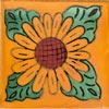 Fliese 10x10 - Sonnenblume