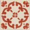 Fliese 10x10 - Barocco marron