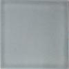 Handbemalte Fliese 10x10 - Platinum grau